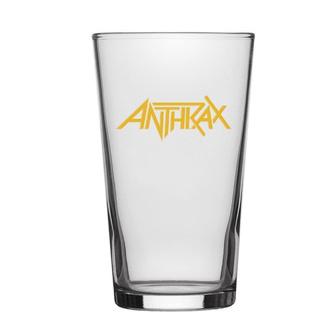 Bicchiere ANTHRAX - LOGO - RAZAMATAZ, RAZAMATAZ, Anthrax