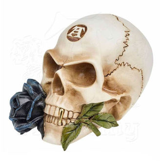 Decorazione ALCHEMY GOTHIC - Alchemist Skull with Rose, ALCHEMY GOTHIC