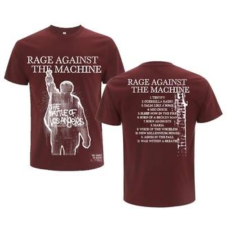 t-shirt metal uomo Rage against the machine - BOLA Album Cover Tracks - NNM, NNM, Rage against the machine