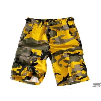 pantaloncini uomo US BDU - YELLOW-CAM, BOOTS & BRACES