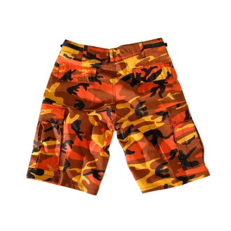 pantaloncini uomo USA-BDU - Army - Orange Camo, MMB