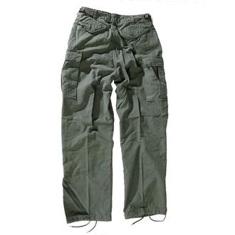 pantaloni uomo M65 Cerniera NYCO lavato - OLIV, MMB