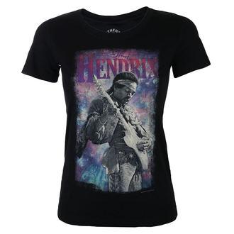 Maglietta Da donna Jimi Hendrix - AUTHENTIC BURST - BLK - BRAVADO, BRAVADO, Jimi Hendrix