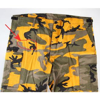 Pantaloni Uomo NOI BDU - YELLOW-CAM - DANNEGGIATO, BOOTS & BRACES