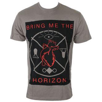 maglietta uomini Bring Me The Horizon - HEARTS & SYMBOLS - GRY - BRAVADO, BRAVADO, Bring Me The Horizon
