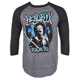 t-shirt metal uomo Jimi Hendrix - AUTHENTC 70 TOUR - BRAVADO, BRAVADO, Jimi Hendrix