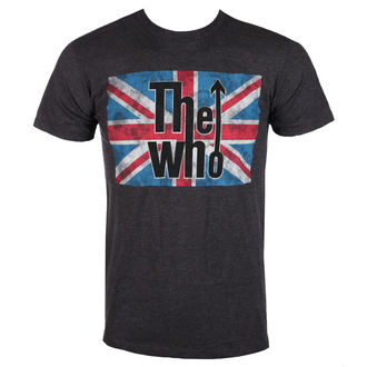 t-shirt metal uomo Who - UNION JACK LOGO - BRAVADO, BRAVADO, Who