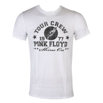 t-shirt metal uomo Pink Floyd - tour crew 1977 - LOW FREQUENCY, LOW FREQUENCY, Pink Floyd