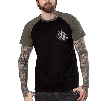 t-shirt hardcore uomo - FUCKING HOSTILE KAKI - HYRAW, HYRAW