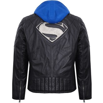 giacca di pelle Superman - BLACK - NNM, NNM