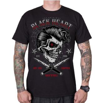 t-shirt street uomo - DENY BOY - BLACK HEART, BLACK HEART