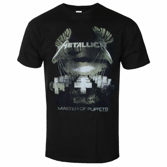 Maglietta da uomo Metallica - Master Of Puppets - Distressed - ROCK OFF, ROCK OFF, Metallica