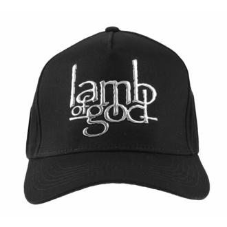 Berretto Lamb Of God - Sonic Silver Logo - ROCK OFF, ROCK OFF, Lamb of God