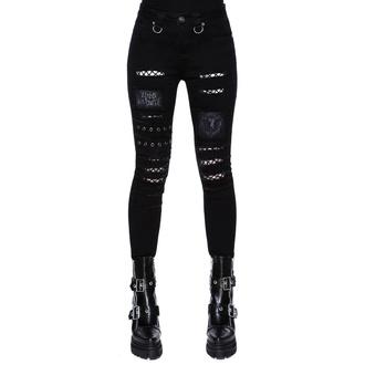 Pantaloni da donna KILLSTAR - Carnage Jeans, KILLSTAR