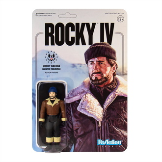 Action Figure Rocky - 4 ReAction - Inverno Formazione, NNM, Rocky