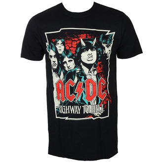 t-shirt metal uomo AC-DC - CARTOON - LIVE NATION, LIVE NATION, AC-DC
