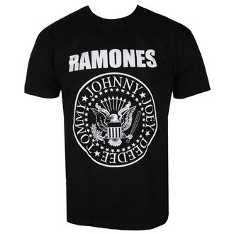 t-shirt metal uomo Ramones - CREST - LIVE NATION, LIVE NATION, Ramones