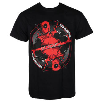 t-shirt film uomo Deadpool - BAD GOOD - LIVE NATION, LIVE NATION, Deadpool