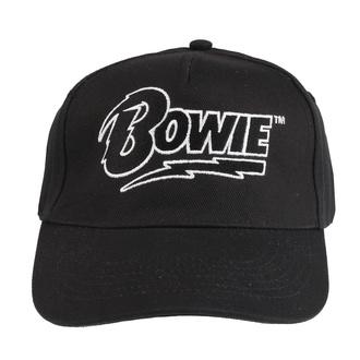 berretto DAVID BOWIE - LOGO - NERO - LIVE NATION, LIVE NATION, David Bowie