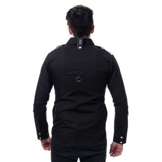 Uomo camicia VIXXSIN - COOPER - NERO, VIXXSIN