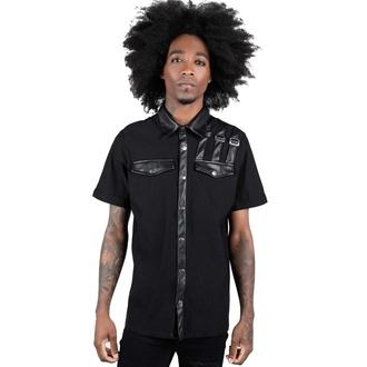 Camicia da uomo KILLSTAR - Corporate Hell - Nero, KILLSTAR