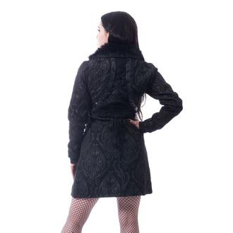 Cappotto da donna Poizen Industries - CRAFT COAT - NERO, POIZEN INDUSTRIES
