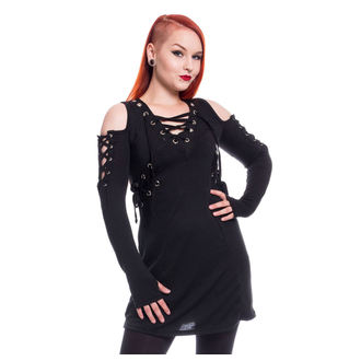 Vestito Da donna Poizen Industries - CRAVE - NERO, POIZEN INDUSTRIES