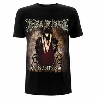 Maglietta da uomo Cradle Of Filth - Cruelty And The Beast - Gildan Heavy - Nero, NNM, Cradle of Filth