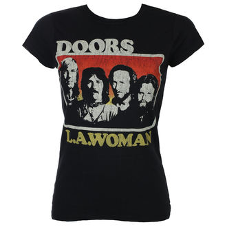 t-shirt metal donna Doors - LA Woman - ROCK OFF, ROCK OFF, Doors