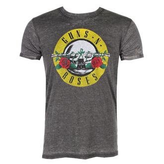 Maglietta da uomo con stampa logo classsico Guns N' Roses - ROCK OFF, ROCK OFF, Guns N' Roses