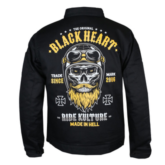 Giacca da uomo BLACK HEART - WHISKERY - NERO, BLACK HEART