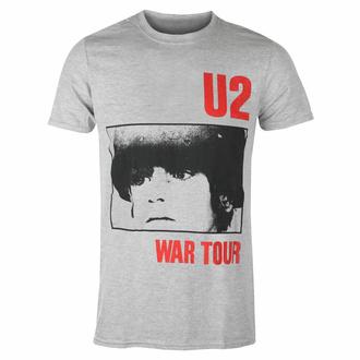 Maglietta da uomo U2 War Tour - GRIGIO - ROCK OFF, ROCK OFF, U2