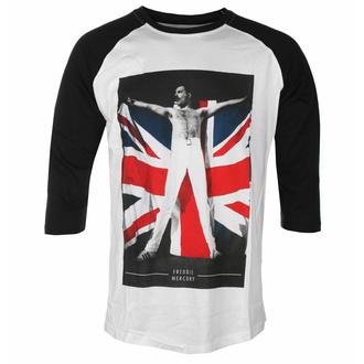 Maglietta da uomo Freddie Mercury - Flag - ROCK OFF, ROCK OFF, Queen