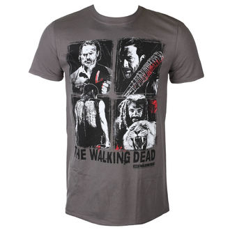 t-shirt film uomo The Walking Dead - 4 CHARACTERS - PLASTIC HEAD, PLASTIC HEAD