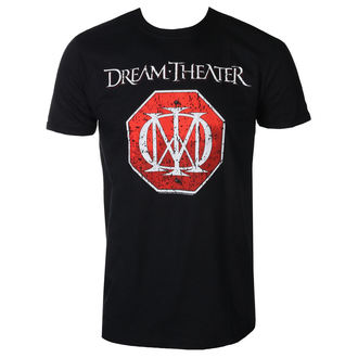 t-shirt metal uomo Dream Theater - RED LOGO - PLASTIC HEAD, PLASTIC HEAD, Dream Theater