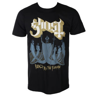 t-shirt metal uomo Ghost - BLACK TO THE FUTURE - PLASTIC HEAD, PLASTIC HEAD, Ghost