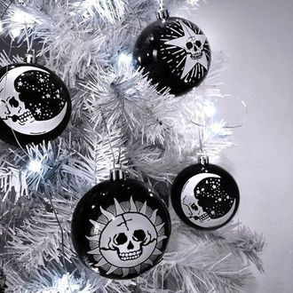 Natale decorazione (palle) KILLSTAR - Hexmas - Nero, KILLSTAR