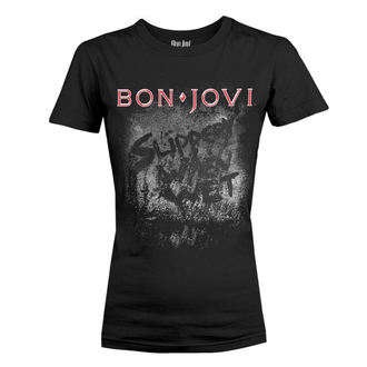 t-shirt metal donna Bon Jovi - SLIPPERY WHEN WET ALBUM - PLASTIC HEAD, PLASTIC HEAD, Bon Jovi