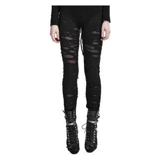 Pantaloni (leggings) PUNK RAVE - Ripped, PUNK RAVE