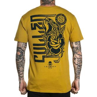 Maglietta da uomo SULLEN - SMELL THE ROSES - MOSTARDA, SULLEN