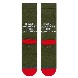 Calzini Rage Against The Machine - RENEGADES - VERDE MILITARE - STANCE, STANCE, Rage against the machine