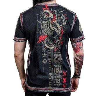 t-shirt hardcore uomo - Battle Royale - WORNSTAR, WORNSTAR