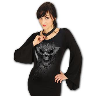 t-shirt donna - BAT SKULL - SPIRAL, SPIRAL