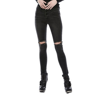 Pantaloni Da donna (jeans) PUNK RAVE - washed out, PUNK RAVE