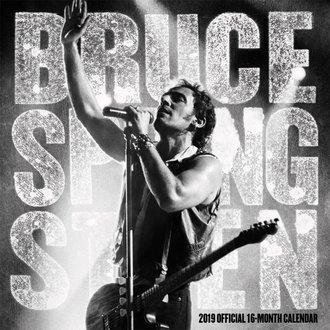 Calendario per anno 2019 BRUCE SPRINGSTEEN, NNM, Bruce Springsteen