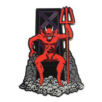 Targhetta Iron Maiden - Legacy of the Beast - Il Bestia, Iron Maiden