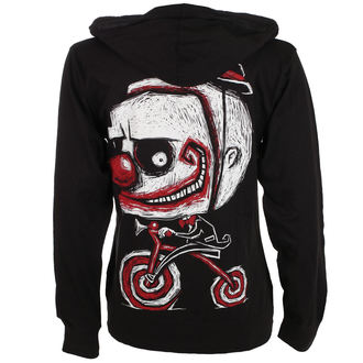 felpa con capuccio unisex - Creep The Clown - Akumu Ink, Akumu Ink