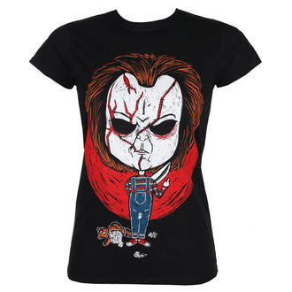 t-shirt hardcore donna - CHUCKY - GRIMM DESIGNS, GRIMM DESIGNS