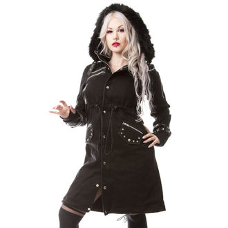 cappotto da donna Poizen Industries - DARE - NERO, POIZEN INDUSTRIES