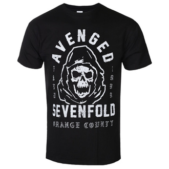 Maglietta da uomo Avenged Sevenfold - So Grim Orange - ROCK OFF, ROCK OFF, Avenged Sevenfold